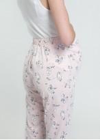 Pijama gravide bumbac organic maneca lunga Cats