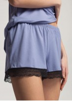 Pijama dama cu bretele Edith lavender