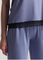 Pijama dama vascoza Edith lavender