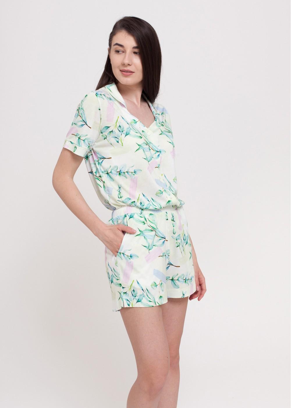 Pijama Fresh Leaves - Bambus