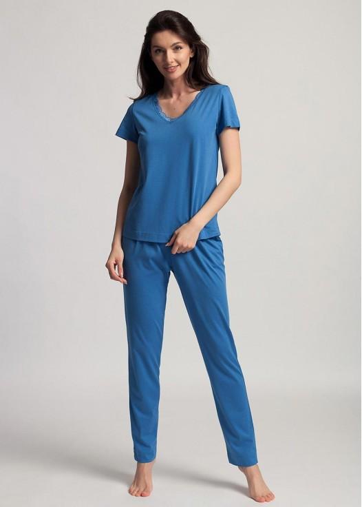Pijama maneca scurta dama modal Danielle Star Sapphire