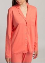 Pijama dama modal cu nasturi Danielle Shell Pink