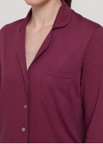 Pijama dama modal cu nasturi Danielle Wine