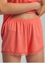 Pijama dama modal bretele Danielle Shell Pink