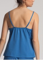Pijama dama modal bretele Danielle Star Sapphire