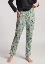 Pijama dama modal maneca lunga Fiona negru