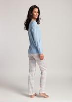 Pijama dama modal maneca lunga Moonsky bleu