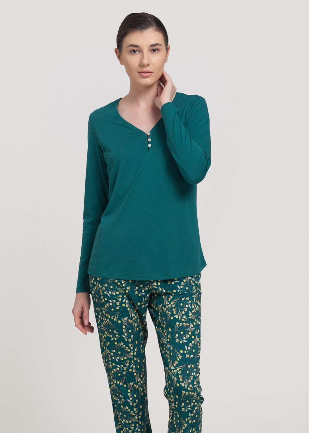 Women pyjamas Berry - Bambus