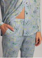 Pijama cu nasturi dama modal Berry
