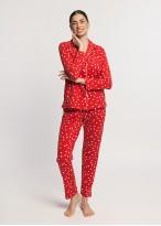 Pijama dama bumbac cu nasturi Felicity