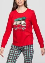 Pijama femei Craciun Family