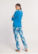 Pijama dama modal cu nasturi Donna