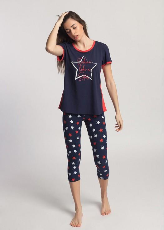 Pijama dama bumbac Grace