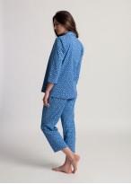 Pijama dama bumbac organic cu nasturi Debora