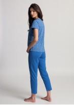 Pijama dama bumbac organic Debora