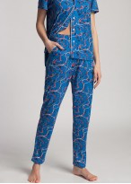 Pijama dama bambus cu nasturi Cherry Tree