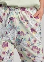 Pijama dama Modal Giulia white jade