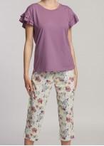 Pijama dama modal maneca scurta Giulia valerian