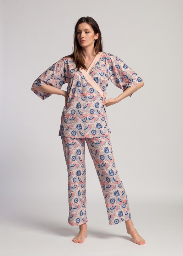 Pijama Dama Japan Fan Bambus