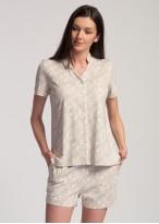 Pijama dama modal cu nasturi Magnolia