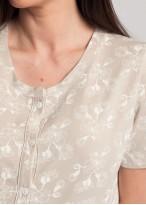 Pijama dama modal descheiata Magnolia