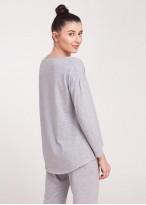 Bluza femei gri melange