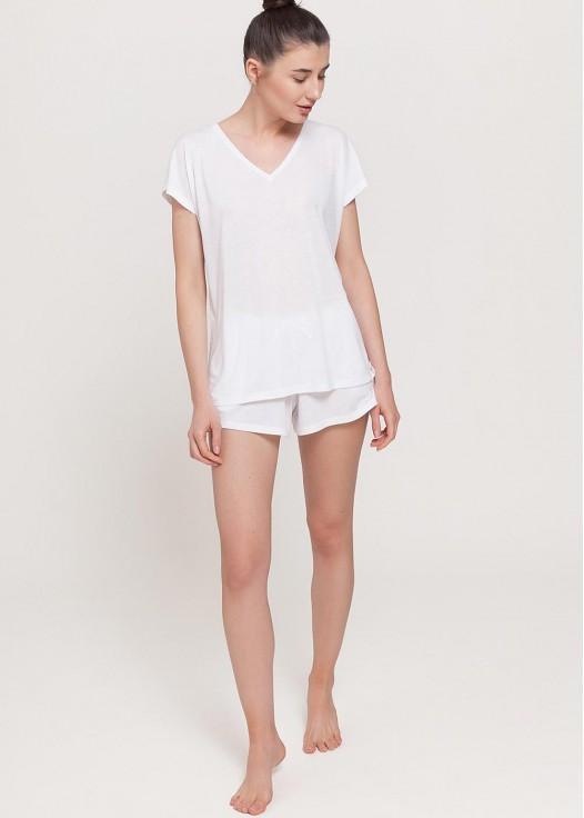 Tricou femei Breeze alb
