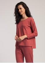 Bluza dama modal buzunar Urban Story red