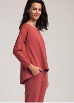 Bluza dama modal maneca lunga Urban Story red