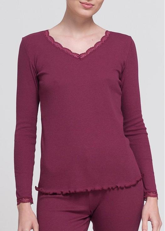 Bluză cu dantelă Danielle - Modal