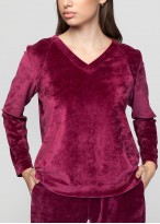 Bluză catifea Danielle