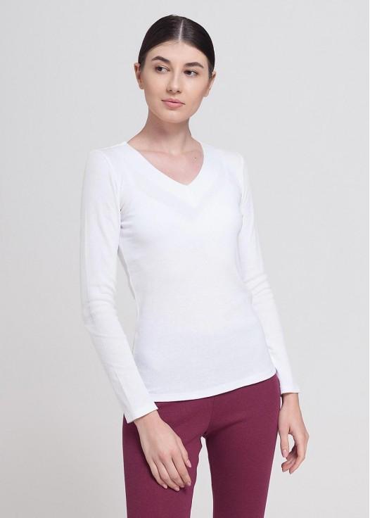 Bluza dama modal Danielle alb