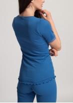 Bluza dama modal dantela Danielle Star Sapphire
