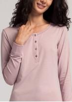 Bluza dama maneci lungi modal Soft Touch lila