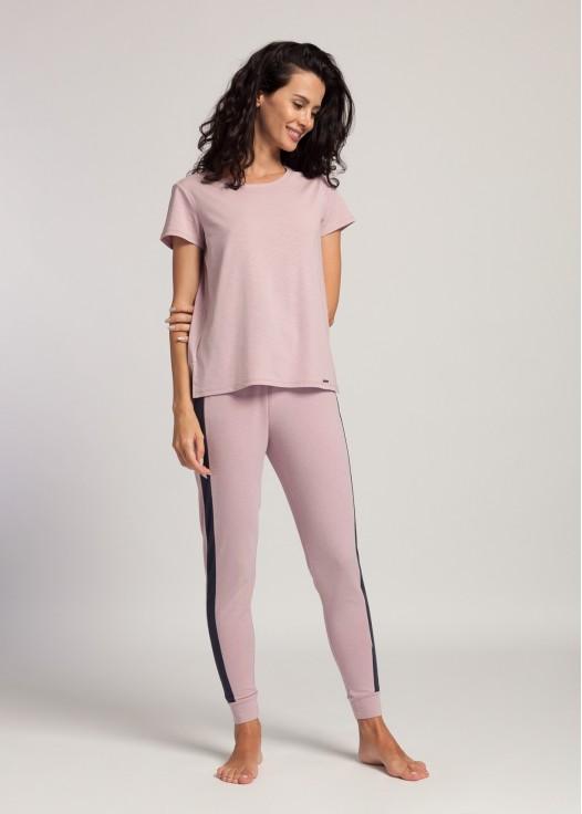 Bluza dama maneci scurte modal Soft Touch lila