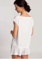 Bluza dama modal Soft Touch alb